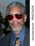 Actor Morgan Freeman At...