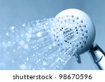 shower with running water | Shutterstock . vector #98670596