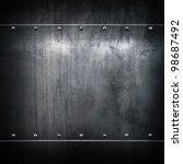 grunge metal | Shutterstock . vector #98687492