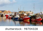 Fishing Boats In Howth Harbor...