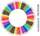 Circle Color Chart Made Of...