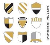 crest badge | Shutterstock . vector #98715296