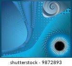 eye of universe | Shutterstock .eps vector #9872893