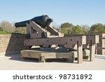 A Model 1846 32 Pound Cannon...