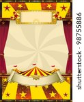 old cool circus. a circus... | Shutterstock .eps vector #98755886