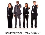 multi ethnic team | Shutterstock . vector #98773022