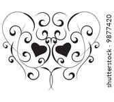 black design element isolated...   Shutterstock .eps vector #9877420