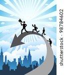 business success | Shutterstock .eps vector #98784602