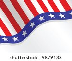 fourth of july patriotic... | Shutterstock .eps vector #9879133
