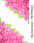 the roses background | Shutterstock . vector #98794622
