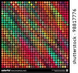 abstract colorful background.... | Shutterstock .eps vector #98817776