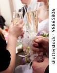 Wedding Decorated Glasses In...