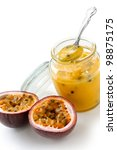 Homemade Passion Fruit Curd