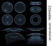 geometry  mathematics and... | Shutterstock . vector #98899022
