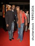 Постер, плакат: Actors DJIMON HOUNSOU left