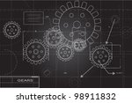 gears background | Shutterstock .eps vector #98911832