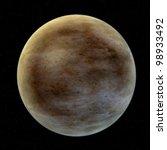 3d  Render Of Mercury  Planet