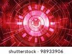 dark technical background | Shutterstock . vector #98933906