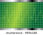 cardiology test.... | Shutterstock .eps vector #9896188