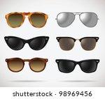 sunglasses vintage set  cats...