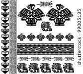 vector of ancient american...   Shutterstock .eps vector #99005135