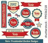 retro presidential election...
