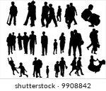 silhouette | Shutterstock .eps vector #9908842