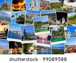 stack of croatia travel photos  ... | Shutterstock . vector #99089588