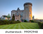 Dromoland Castle At Dusk In...