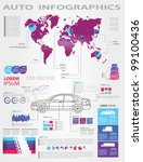detail infographic vector... | Shutterstock .eps vector #99100436