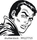 illustration of a businessman ... | Shutterstock . vector #99127715