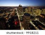 night lights of a metropolis | Shutterstock . vector #9918211