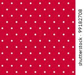 Vector Seamless Red Polka...