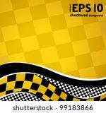 vector checkered racing... | Shutterstock .eps vector #99183866