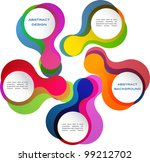 colorful abstract banner | Shutterstock . vector #99212702