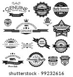premium quality labels  ... | Shutterstock . vector #99232616