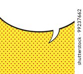 speech bubble in pop art style | Shutterstock .eps vector #99237662