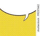 speech bubble in pop art style | Shutterstock .eps vector #99237662