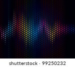 abstract background of sound... | Shutterstock .eps vector #99250232
