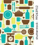 Seamless Kitchen Pattern....