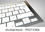 buy button on modern computer keyboard - stock photo