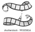 two film strip isolated on... | Shutterstock . vector #99335816