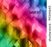 Colorful Triangle Abstract....