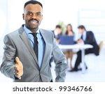 portrait of a handsome... | Shutterstock . vector #99346766