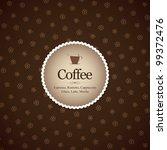 menu for restaurant  cafe  bar  ...   Shutterstock .eps vector #99372476