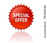 vector special offer icon | Shutterstock .eps vector #99396338