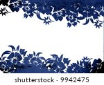 floral style backgrounds frame | Shutterstock . vector #9942475