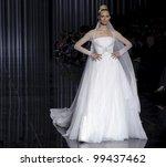 barcelona   may 13  a model... | Shutterstock . vector #99437462