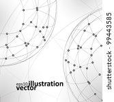 abstract vector background  ... | Shutterstock .eps vector #99443585