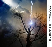 Dramatic Background   Tree...